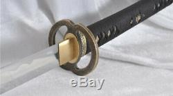 Sakabato Katana Japanese Sword Reversed Cutting Edge 1095 Steel Battle Ready