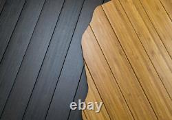 Sickspeed Wood Grain Custom Cut Bamboo Trunk Floor Mat For 94-01 Acura Integra