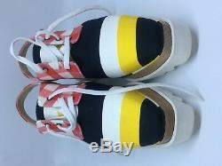 Stella MCcartney Muti -Colour Elyse Cut-Out Shoes
