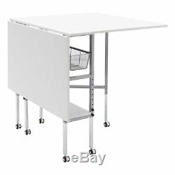 Studio Designs Sew Ready Hobby and Cutting Craft Desk Table with Storage Drawers