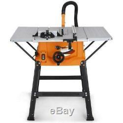 Table Bench Saw Circular Mitre DIY Tool Blade Cut Wood MDF 1800W Tabletop Clamp