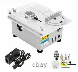 Table Saw Handmade Woodworking Bench Electric Polisher Grinder Circular Cutting