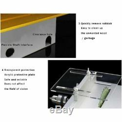 Table Saw Portable Bench Precision Blade Woodworking Cutting Polish Machine DC24