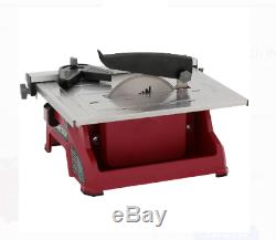 Table Saw Wet Tile Miter Straight Cut Wood Portable Heavy Duty 7-Inch Bench NEW