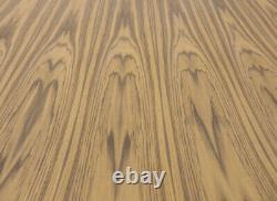 Teak Flat Cut wood veneer sheet 48 x 96 with paper backer 1/40 thick A grade