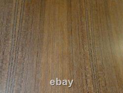 Teak Quarter Cut wood veneer 48 x 96 with paper backer 1/40 thickness A grade