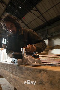 Triton 1500W Triple Blade Planer 180mm Carpentry Wood Cut Sawing Power Tool New