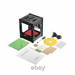 US 3000mW DIY Desktop Mini CNC Laser Engraver Cutter Wood Cutting Machine Router