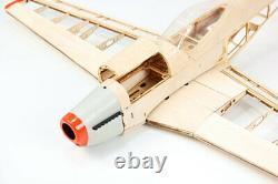 Upgraded P51 RC Laser Cut Plane Balsa Wood Model Airplane Kit Wingspan 1000mm