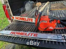Vintage Homelite super xl 925 chainsaw. Its never cut wood