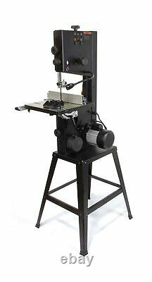 WEN Band Saw Stand Worklight Dust Port Two Speed 3.5 amp 10 Power Tool Black