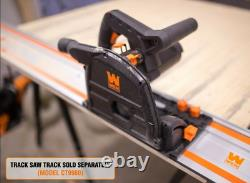 WEN CT1065 10-Amp 6.5-Inch Plunge Cut Sidewinder Circular Track Saw