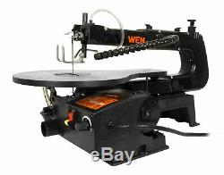 WEN Scroll Saw Electric Wood Cutting Variable Speed Cutter Workshop Equipment