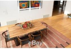 Wood Butcher Block Kitchen Countertop Unfinished Birch Cutting Board 74inx39x1.5