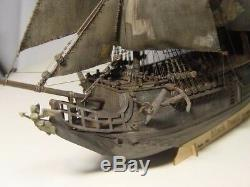 Wooden Ship Boat Model 1/96 Kits Hobby Black Pearl Tall Kit Laser Cut Gift Man