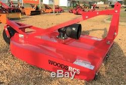Woods RC5 rotary cutter aka bush hog brush hog 60-in cut 5-foot 60