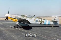 1/5 Échelle Bf-109 G-10 / K4 Laser Cut Court Kit Imprimé Plans, 78,5 Envergure