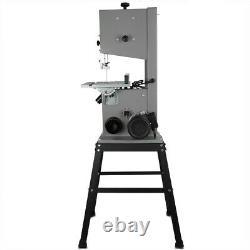 10'' Bench Woodworking Bandsaw 220v + Cast Table Wood Cutting Blade +base Frame