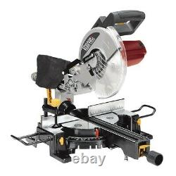 10 Dans. Sliding Compound Miter Saw Precision Cross, Bevel And Miter Cuts