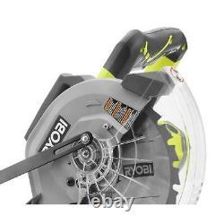 10 Po. Sciure De Mitre À Glissement Led 15 Amp. 4600 RPM 12 Po. Capacité De Coupe Croisée