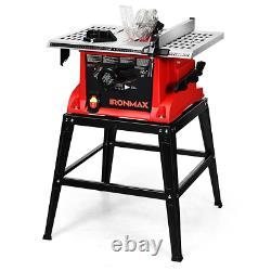 10 Scies De Table Machine De Coupe Électrique En Aluminium Travail Du Bois De Table Avec Support
