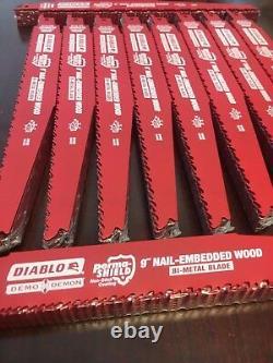 100 Freud Diablo 9 Lames De Recette Bois Ds0912bw Fits Milwaukee M18 2720-20