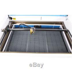 100w 1000600mm Co2 Laser Machine De Découpe Laser Engraver Cw5000 Chiller Us Navire