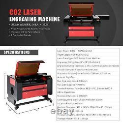 100w 28x20 Co2 Graveur Laser Coupeur Coupeur De Gravure Machine Ruida