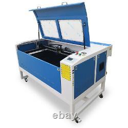 1060 Machine De Découpe Laser Co2 Avec Reci 100w Co2 Motorized Up/down Feed Port