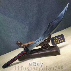 1095 En Acier Au Carbone À Haute Épée Dao Can Cut Arbre Hand Made