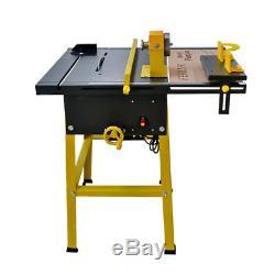 110v 1500w 5 Dans Une Table De Scie À Bois Banc De Scie Machine De Coupe De Bois En Métal