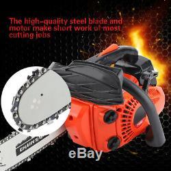 12 \ Essence Chainsaw Machine De Découpage En Bois De Gaz Scie À Chaîne Avec Aluminium Crankcase