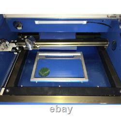 12 X 8 40w Co2 Graveur Laser Graveur Gravure De Gravure Worktable