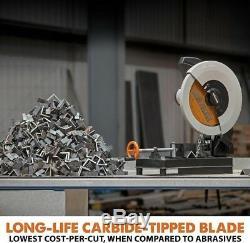 14 Benchtop Déchiqueteur Polyvalent Cut Off Metal Machine Aluminium Coupe De Bois