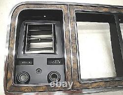 1978 1979 78 79 Ford Truck Bronco Wood Grain Dash Lunette Avec Air Nouveau (d)