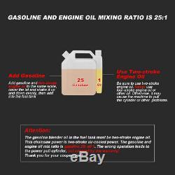 20 52cc Gaz Chainsaw Bois Outil De Coupe 2 Cycle Powered Aluminium Gaz Crankcase