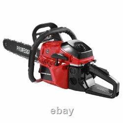 20 62cc Gas Chainsaw Wood Cutting Tool 2 Cycle Powerful 2 Stroke Petrol Logging