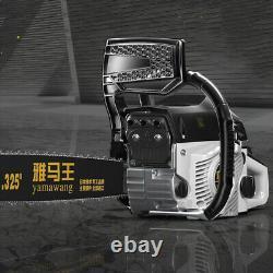 20 78cc Essence Arbre Bois Chaîne Machine De Découpage De Gaz Scie Aluminium États-unis Crankcase