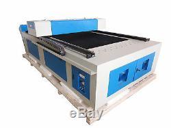 200w Hq1325m Co2 Inoxydable Bois En Acier / Mdf Acrylique Découpe Laser Machine / 48 Pieds