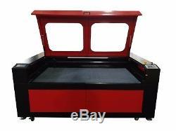200w Hq1810 Co2 Gravure Au Laser Machine De Découpage / Bois Cutter 18001000mm Graveuse