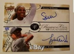 2019 Ud Woods National Tiger Serena Williams Prominent Cuts Double Automatique Sp / 5 Hot