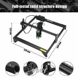 20w 16'' Laser Graveur Cutting Machine For Metal Vinyl Wood Leather Aluminium Us