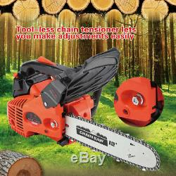 25,4cc 12petrol Poignée Supérieure Essence Chainsaw Bois De Coupe 900w Affûteuse