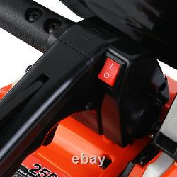 25.4cc Essence Arbre Machine De Coupe De Bois Chaîne De Gaz Sciage En Aluminium Crancase USA