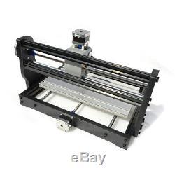 3018 Cnc Diy Gravure Routeur & 500mw Module Laser Machine De Découpe 3d Bois Fraisage
