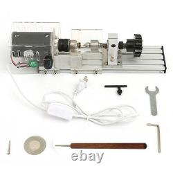 350w Diy Mini Wood Lathe Bead Cutting Machine Bench Drill Polissage Menuiserie