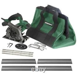 4 1/2 Plunge Cut Circular Saw Kit 53 1/2 Guide Track 12000 RPM Faible Frottement