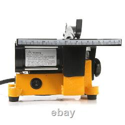 4 Pouces Mini Table Saw Wood Cutting Machine With 2 Blades & 1 An Warranty USA