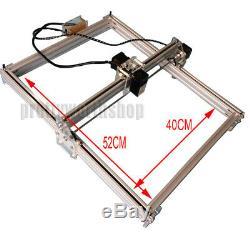 4050cm 500mw Bureau De Découpe Laser / Machine De Gravure Logo Bricolage Image Marquage