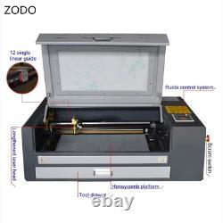 4060 50w Wood Desktop Co2 Laser Gravure Machine À Découper Avec Ruida Par Express